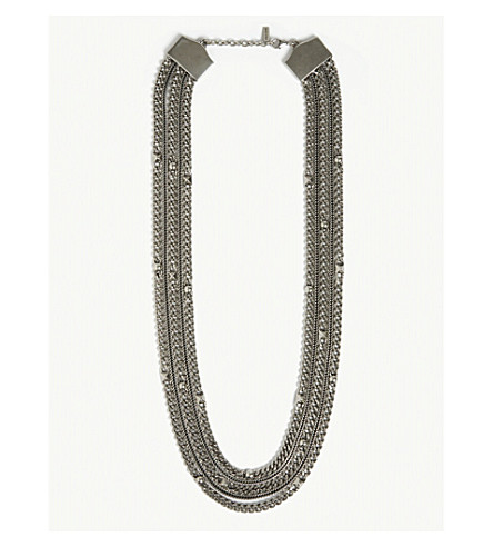 THE KOOPLES Long chain necklace (Sil01