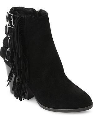 THE KOOPLES BOOTS WITH SUEDE FRINGES