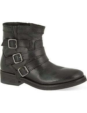 THE KOOPLES SPORT Buckle biker boots