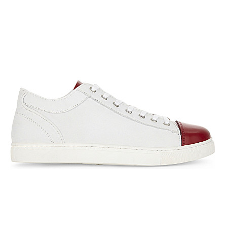 THE KOOPLES SPORT Low-top leather trainers