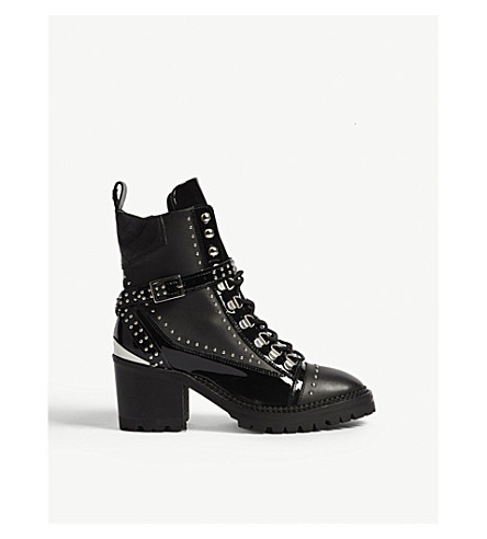 THE KOOPLES Studded leather boots (Bla01