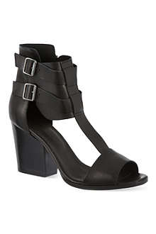 THE KOOPLES Heeled leather sandals