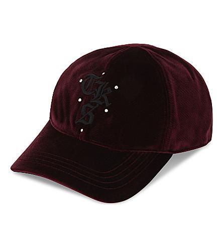 THE KOOPLES SPORT Velvet baseball cap (Bur01
