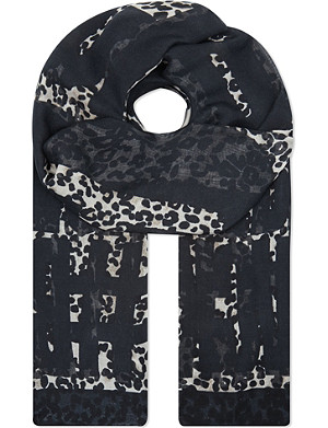 THE KOOPLES SPORT Echarpe skull print scarf