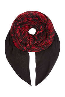 THE KOOPLES SPORT Checked scarf
