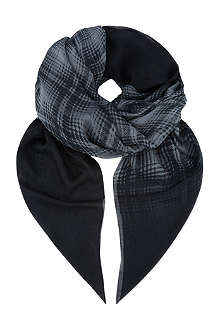 THE KOOPLES SPORT Check print scarf