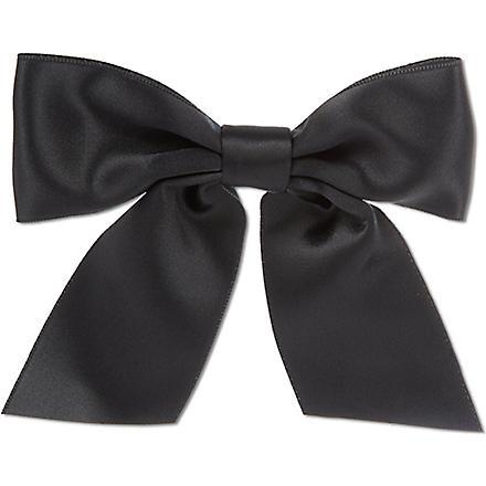 THE KOOPLES Satin bow (Black