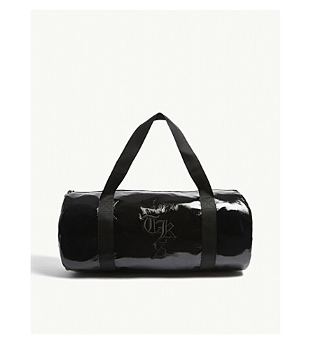 THE KOOPLES Patent zipped holdall (Bla01
