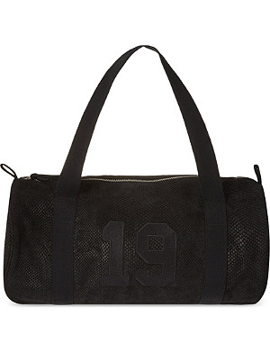 THE KOOPLES SPORT Embossed leather sports bag