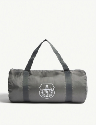 THE KOOPLES SPORT Crested Sports Bag in Grey