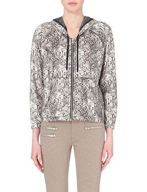THE KOOPLES SPORT Lightweight python-print jacket
