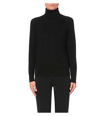 THE KOOPLES Turtleneck wool jumper (Bla78