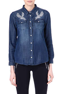THE KOOPLES Eagle denim shirt