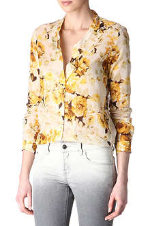 THE KOOPLES Floral shirt