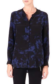 THE KOOPLES SPORT Ocean Floor silk shirt