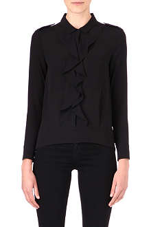 THE KOOPLES Ruffled shirt