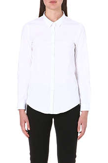 THE KOOPLES Stretch-poplin shirt