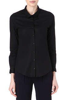 THE KOOPLES Boyfriend stretch-cotton shirt