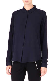 THE KOOPLES SPORT Contrast-sleeve shirt