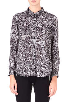 THE KOOPLES SPORT Baroque-print shirt