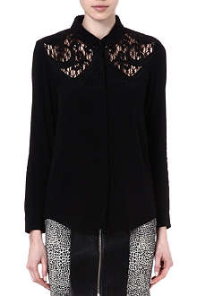 THE KOOPLES Baroque embroidered shirt
