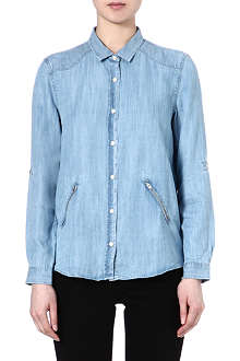 THE KOOPLES SPORT Tencel boyfriend shirt