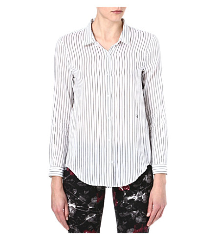 THE KOOPLES Boyfriend shirt (Black / white