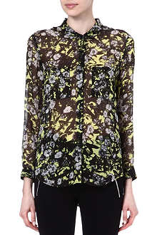 THE KOOPLES SPORT Graphic floral shirt