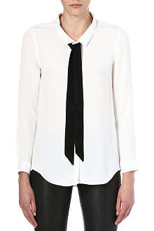 THE KOOPLES Bow boyfriend shirt