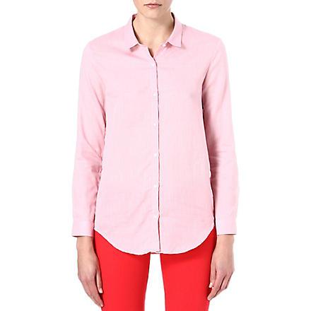 THE KOOPLES Herringbone pattern cotton shirt (Pink