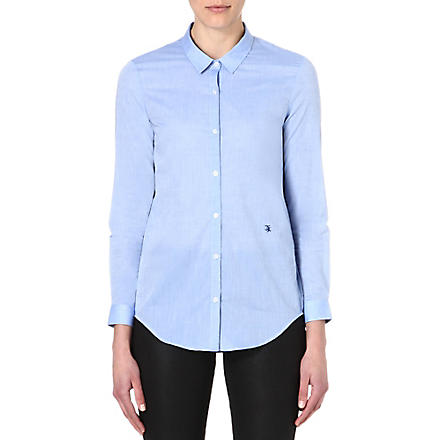 THE KOOPLES Long-sleeved cotton shirt (Blue