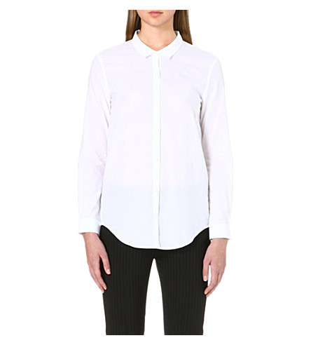 THE KOOPLES Tailored cotton shirt (White