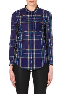 THE KOOPLES SPORT Embroidered checked shirt