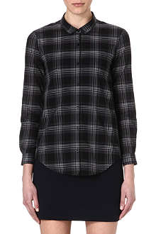 THE KOOPLES Checked cotton shirt