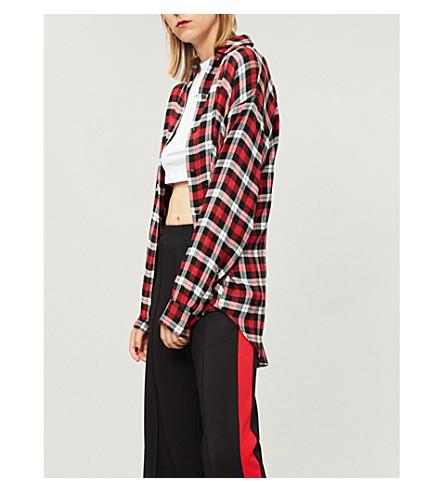THE KOOPLES 格纹梭织衬衫 (Bla26