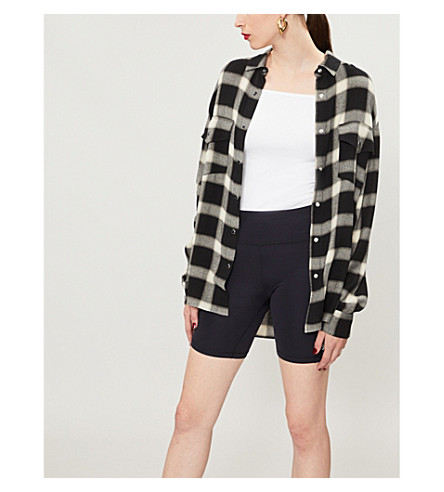 THE KOOPLES Checked flannel shirt (Bla06