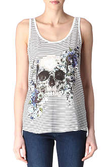 THE KOOPLES Striped skull vest