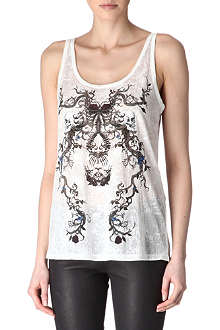 THE KOOPLES Skull burn-out vest