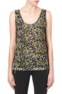 THE KOOPLES SPORT Graphic floral-print top