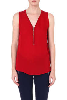THE KOOPLES SPORT Zip-front jersey top