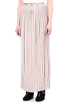 THE KOOPLES SPORT Crepe maxi skirt