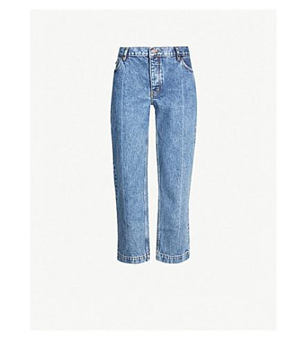 THE KOOPLES 九分款修身版型牛仔裤 (Blue6