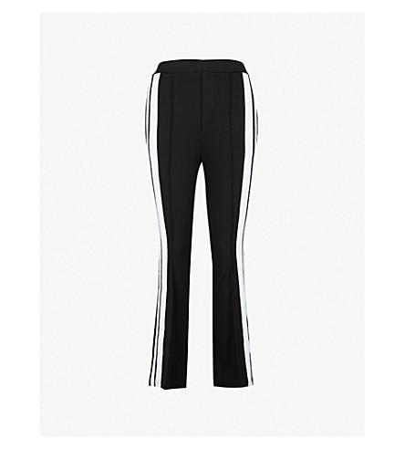 THE KOOPLES 修身版型喇叭平纹针织面料慢跑裤 (Bla01