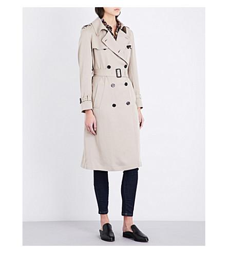 THE KOOPLES Longline woven trench coat (Bei01