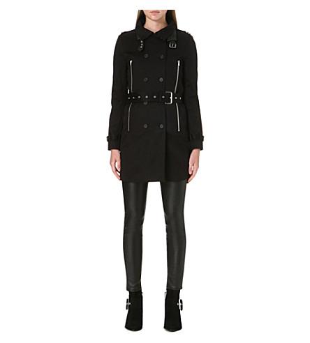 THE KOOPLES Trench coat (Black
