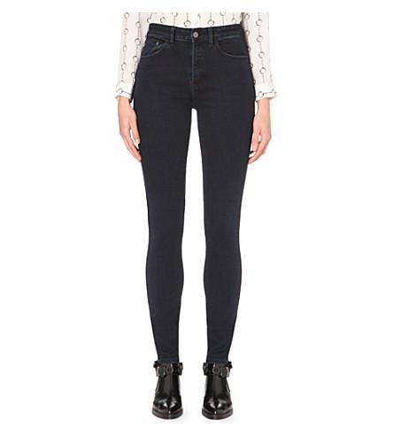 THE KOOPLES Skinny mid-rise jeans (Dark blue