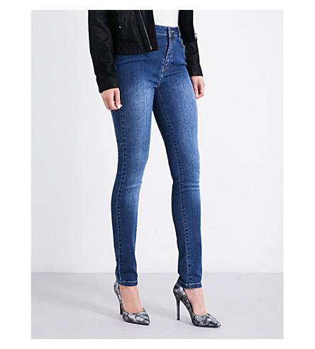 THE KOOPLES Franky skinny mid-rise jeans (Blu88