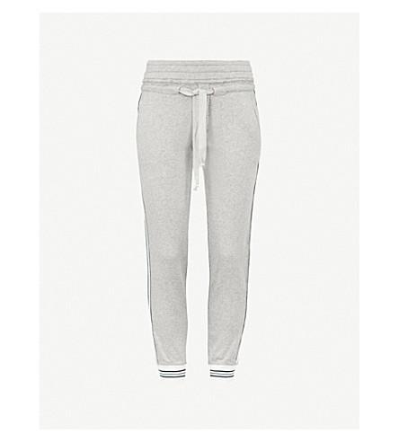 THE KOOPLES Striped-trim cotton-blend jogging bottoms (Gry23