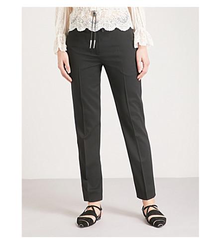 de Cinturón THE Bla01 pantalones lana elástica bordado KOOPLES TqIzwqO