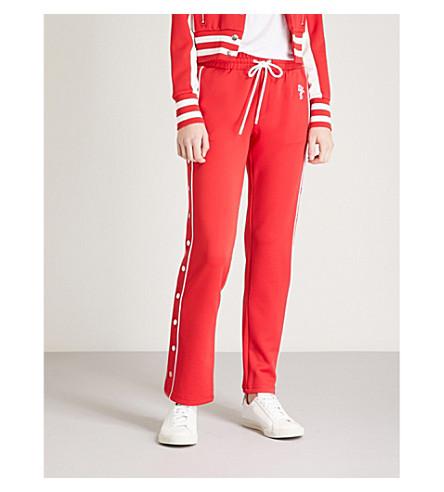 THE KOOPLES Popper-fastening jersey jogging bottoms (Red01